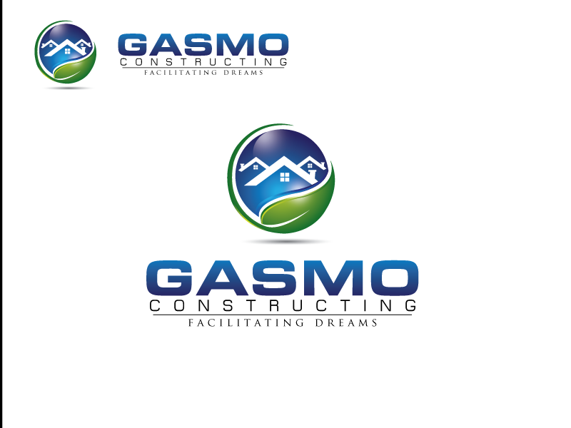 Logo Design by gabbar - Entry No. 110 in the Logo Design Contest Professional Logo Design for Gasmo Contracting.