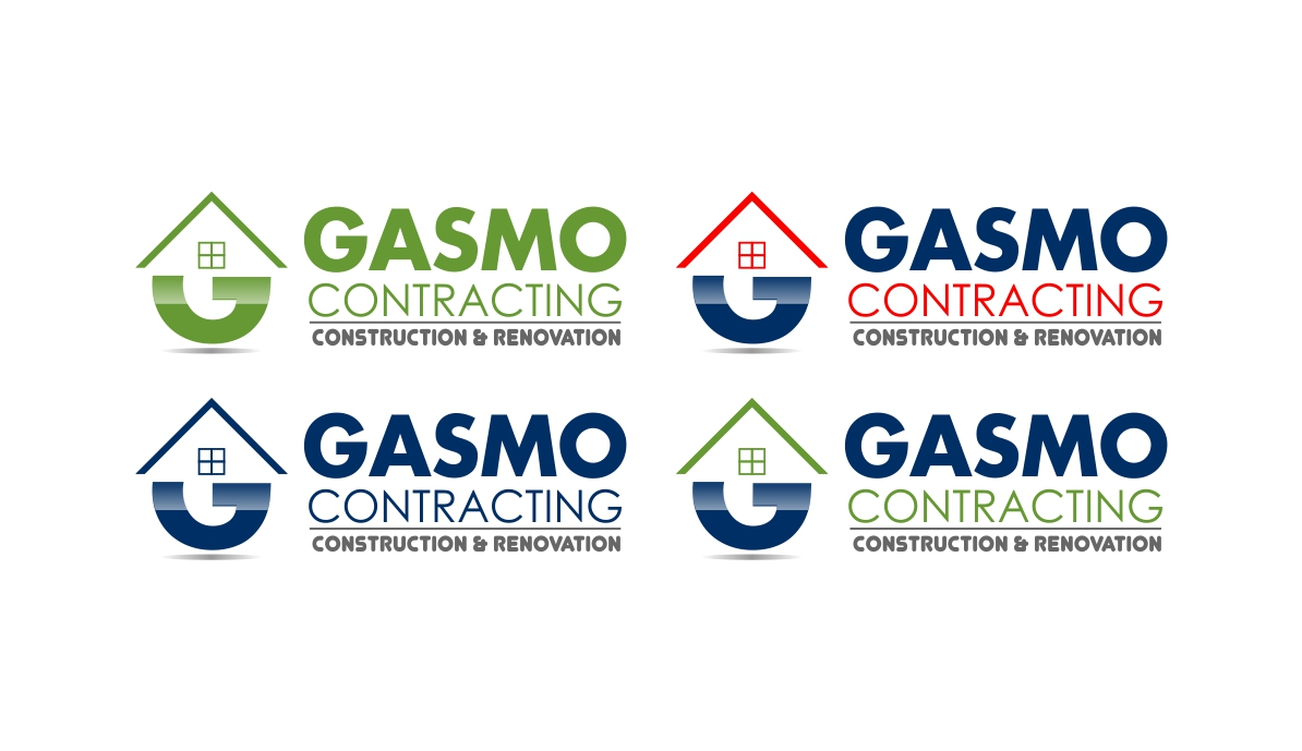 Logo Design by dzoker - Entry No. 111 in the Logo Design Contest Professional Logo Design for Gasmo Contracting.