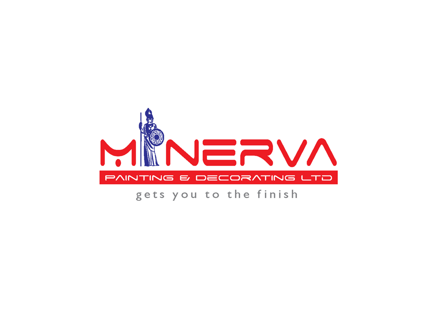 Logo Design by Riyaz - Entry No. 24 in the Logo Design Contest New Logo Design for Minerva Painting & Decorating Ltd..