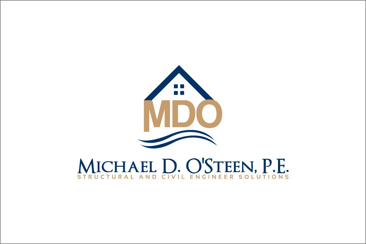 Logo Design by CreativeTemp - Entry No. 77 in the Logo Design Contest Michael D. O'Steen, P.E.  Logo Design.