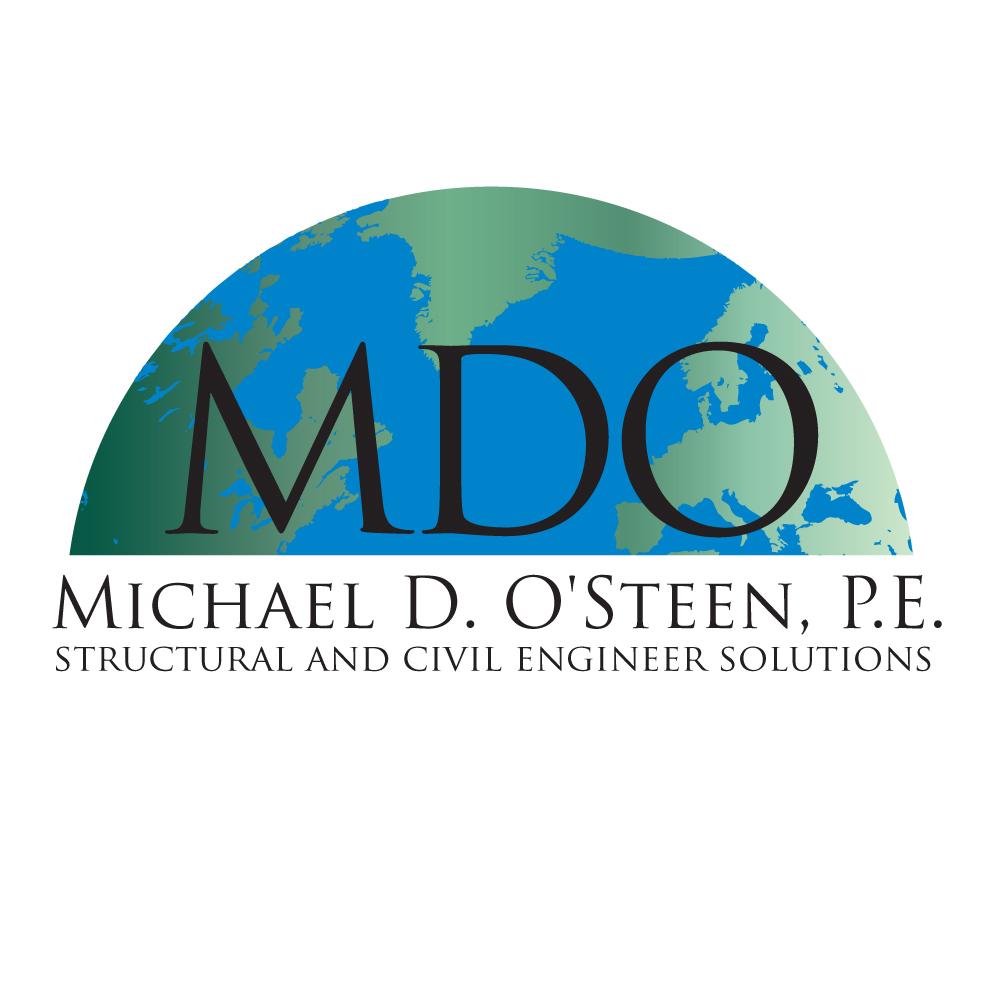 Logo Design by caseofdesign - Entry No. 99 in the Logo Design Contest Michael D. O'Steen, P.E.  Logo Design.