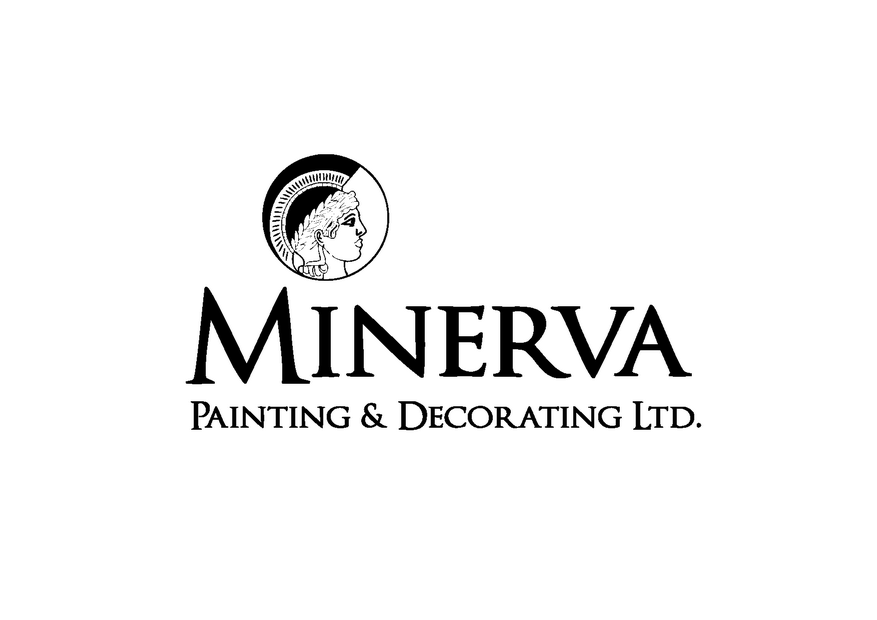 Logo Design by Riyaz - Entry No. 29 in the Logo Design Contest New Logo Design for Minerva Painting & Decorating Ltd..