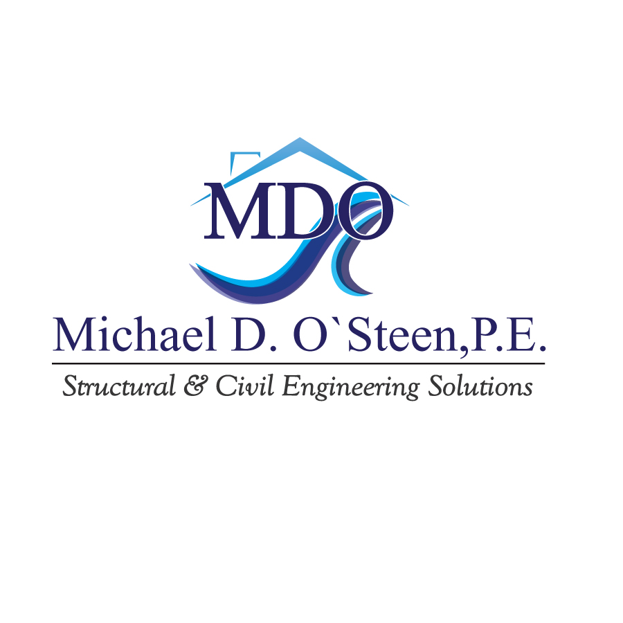 Logo Design by Dan Cristian - Entry No. 108 in the Logo Design Contest Michael D. O'Steen, P.E.  Logo Design.