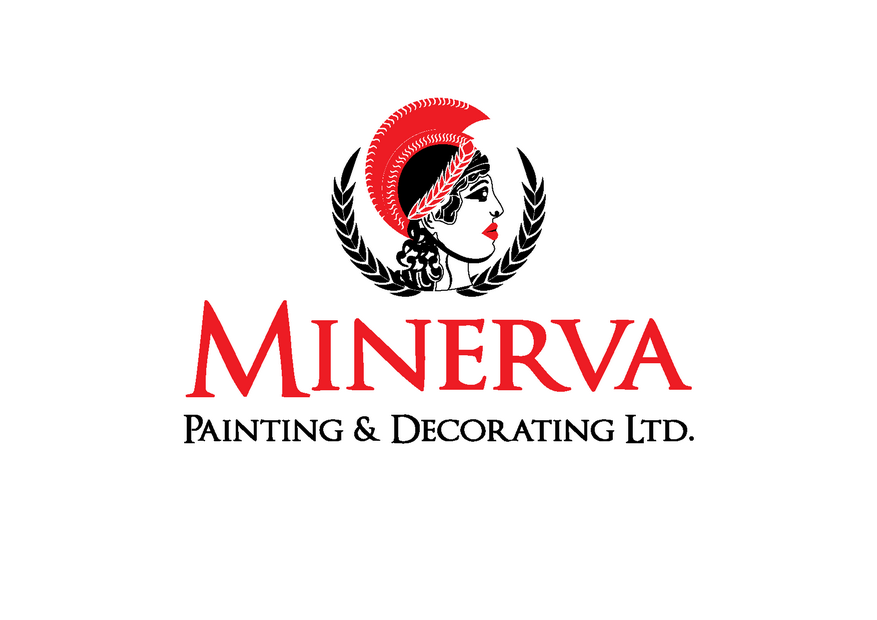 Logo Design by Riyaz - Entry No. 30 in the Logo Design Contest New Logo Design for Minerva Painting & Decorating Ltd..