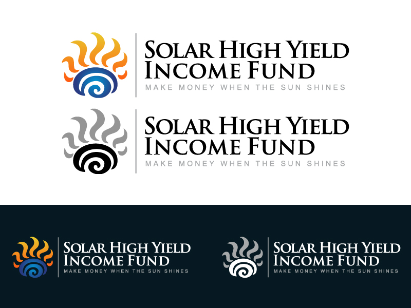 Logo Design by caturro - Entry No. 8 in the Logo Design Contest Logo Design Needed for Exciting New Company Solar High Yield Income Fund.