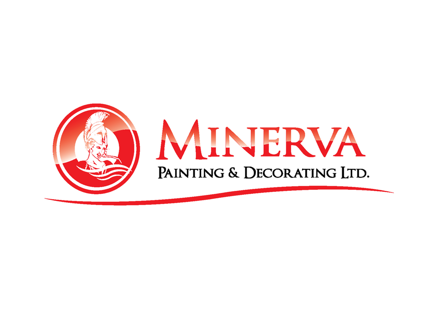 Logo Design by Riyaz - Entry No. 31 in the Logo Design Contest New Logo Design for Minerva Painting & Decorating Ltd..