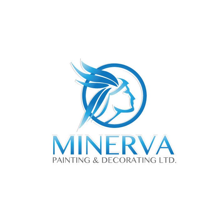 Logo Design by stormbighit - Entry No. 33 in the Logo Design Contest New Logo Design for Minerva Painting & Decorating Ltd..