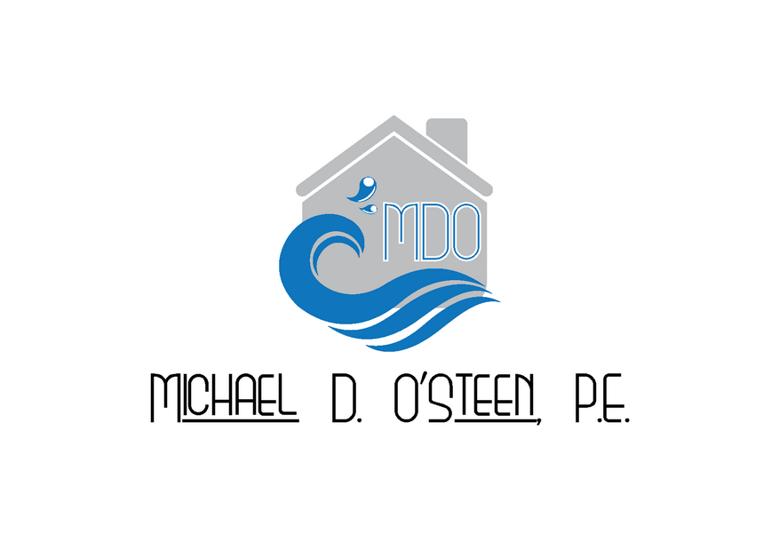 Logo Design by Riyaz - Entry No. 117 in the Logo Design Contest Michael D. O'Steen, P.E.  Logo Design.