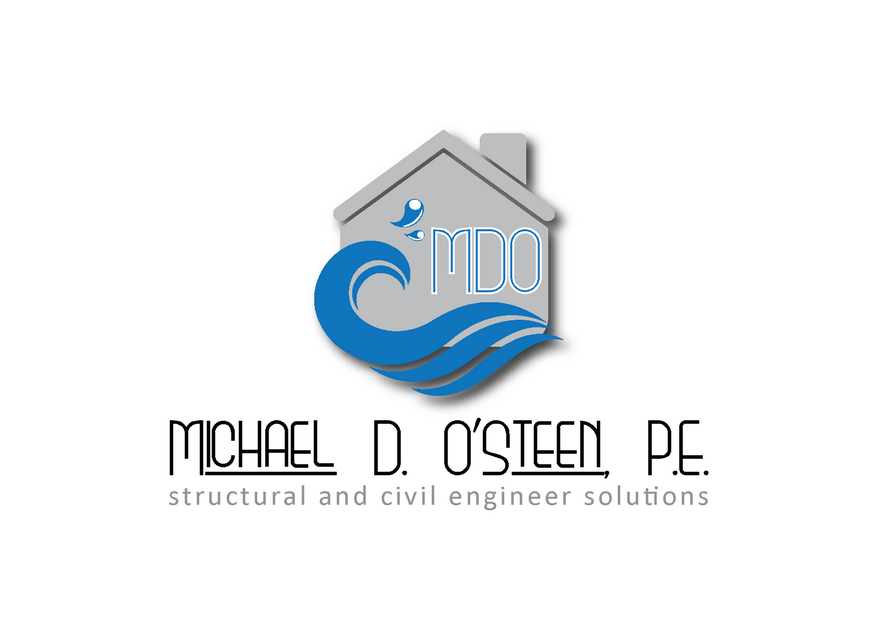Logo Design by Riyaz - Entry No. 118 in the Logo Design Contest Michael D. O'Steen, P.E.  Logo Design.