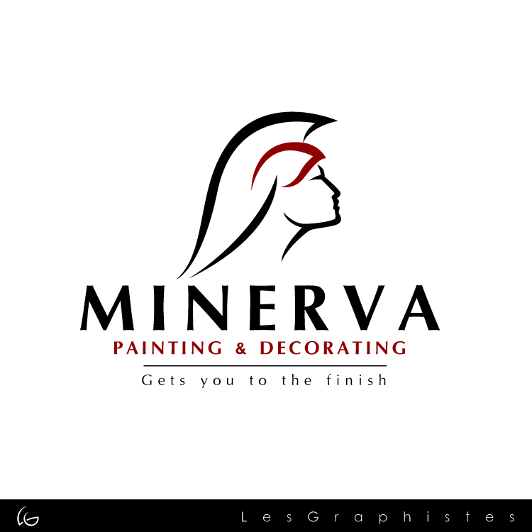 Logo Design by Les-Graphistes - Entry No. 36 in the Logo Design Contest New Logo Design for Minerva Painting & Decorating Ltd..
