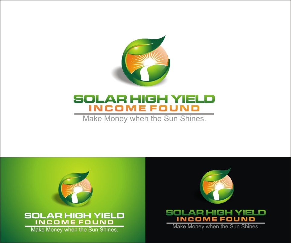 Logo Design by sweetenemy - Entry No. 10 in the Logo Design Contest Logo Design Needed for Exciting New Company Solar High Yield Income Fund.