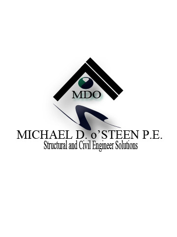 Logo Design by Moag - Entry No. 126 in the Logo Design Contest Michael D. O'Steen, P.E.  Logo Design.