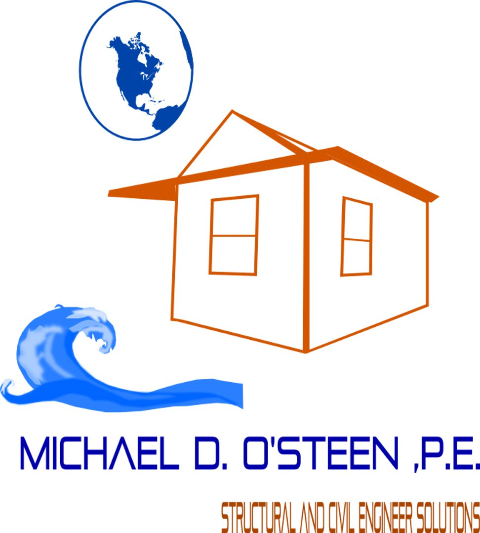 Logo Design by kenscreations - Entry No. 129 in the Logo Design Contest Michael D. O'Steen, P.E.  Logo Design.