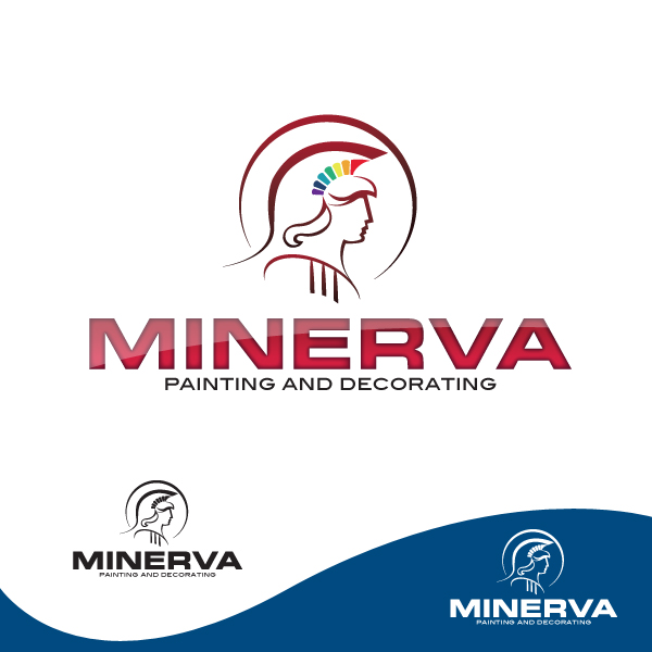 Logo Design by storm - Entry No. 37 in the Logo Design Contest New Logo Design for Minerva Painting & Decorating Ltd..