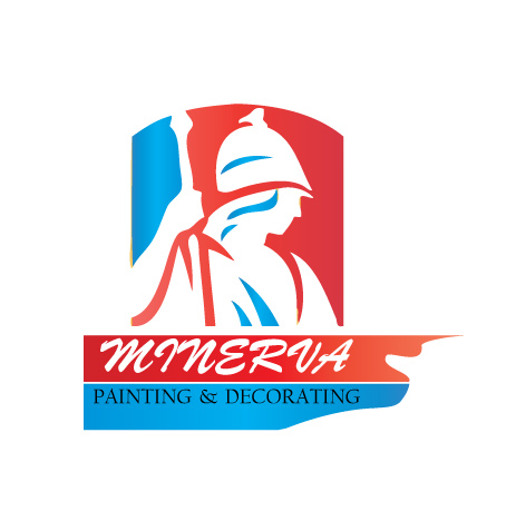 Logo Design by technoteam - Entry No. 39 in the Logo Design Contest New Logo Design for Minerva Painting & Decorating Ltd..