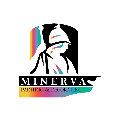 Logo Design by technoteam - Entry No. 40 in the Logo Design Contest New Logo Design for Minerva Painting & Decorating Ltd..