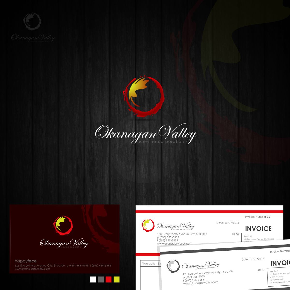 Logo Design by zesthar - Entry No. 227 in the Logo Design Contest Logo Design for wine export company.
