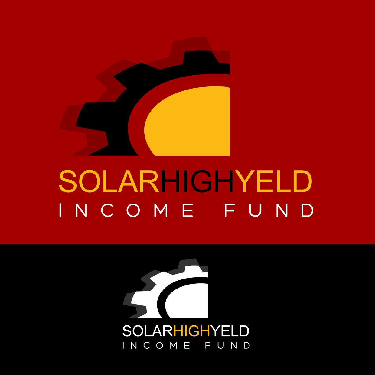 Logo Design by Carolina - Entry No. 48 in the Logo Design Contest Logo Design Needed for Exciting New Company Solar High Yield Income Fund.