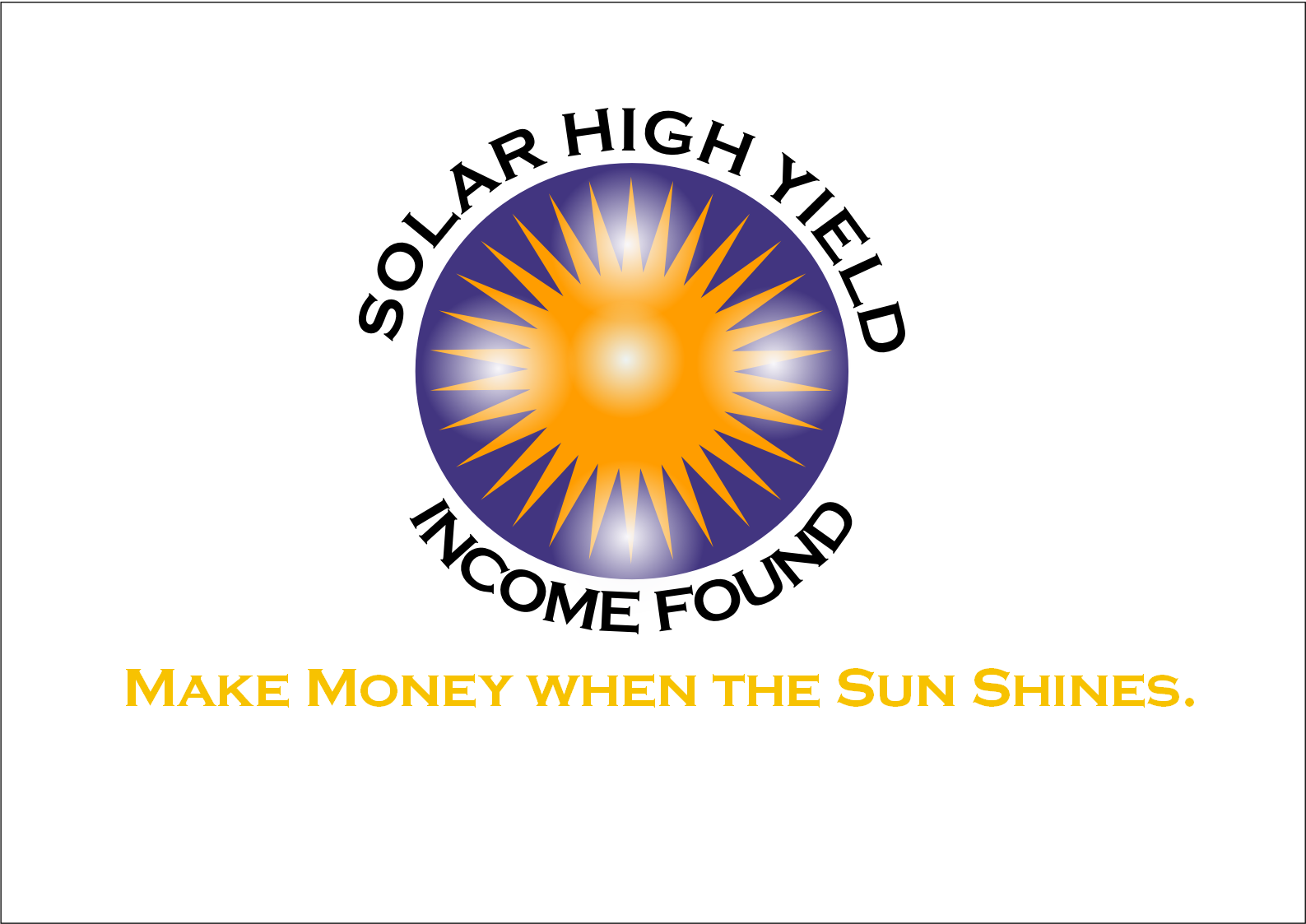 Logo Design by Heri Susanto - Entry No. 65 in the Logo Design Contest Logo Design Needed for Exciting New Company Solar High Yield Income Fund.