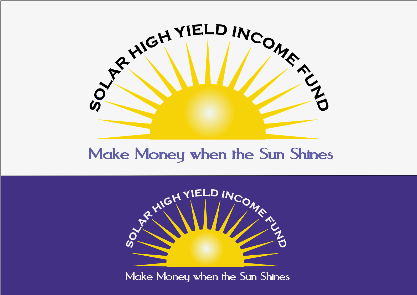 Logo Design by Heri Susanto - Entry No. 66 in the Logo Design Contest Logo Design Needed for Exciting New Company Solar High Yield Income Fund.