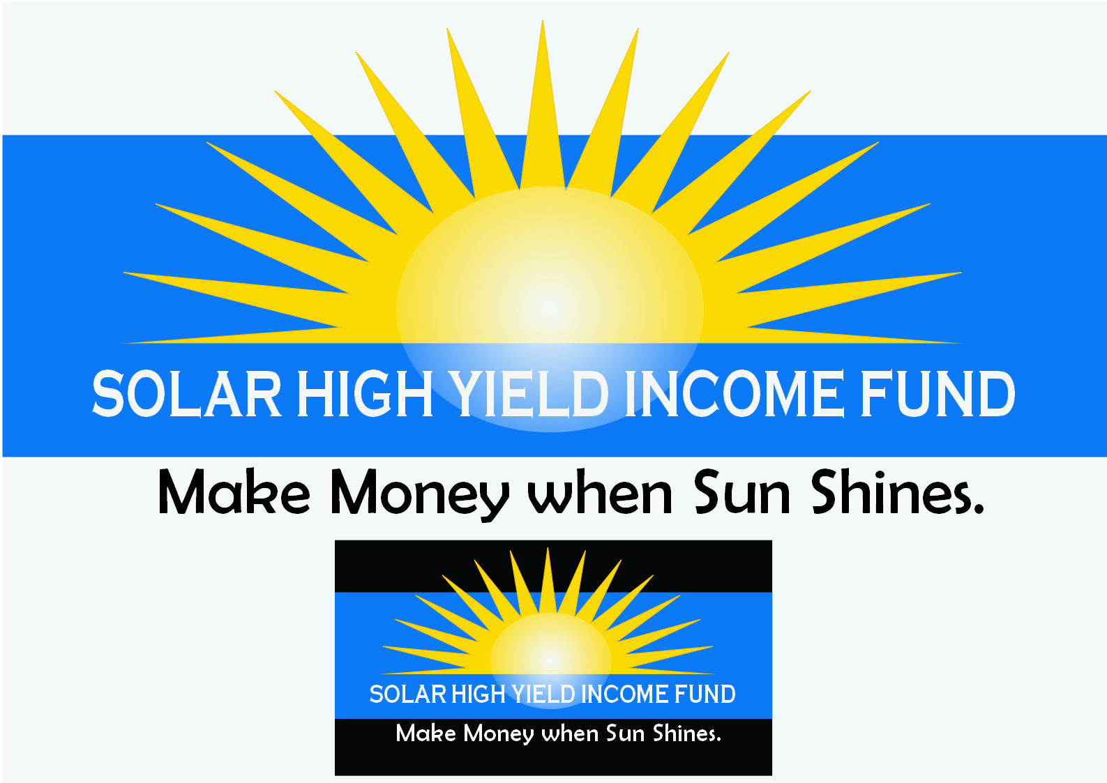 Logo Design by Heri Susanto - Entry No. 67 in the Logo Design Contest Logo Design Needed for Exciting New Company Solar High Yield Income Fund.