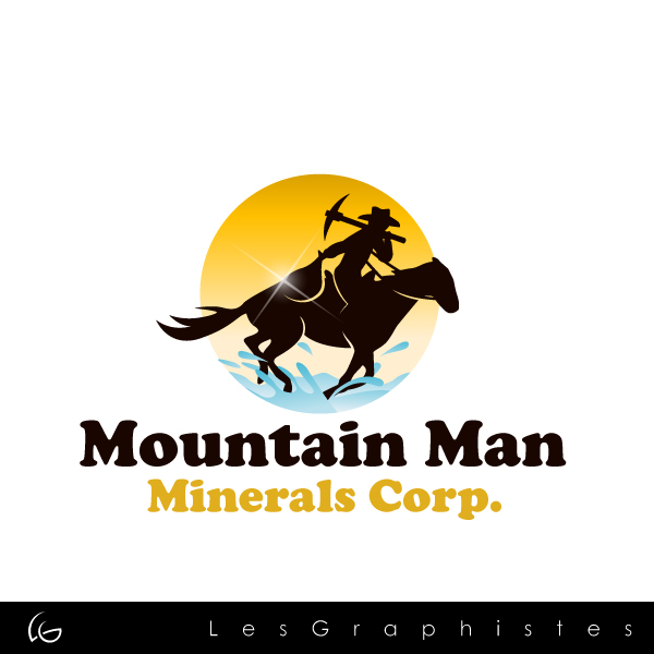 Logo Design by Les-Graphistes - Entry No. 3 in the Logo Design Contest Mountian Man Minerals Corp. Logo Design.