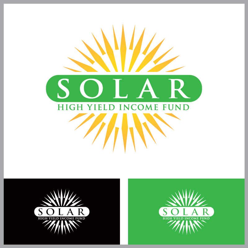 Logo Design by Number-Eight-Design - Entry No. 79 in the Logo Design Contest Logo Design Needed for Exciting New Company Solar High Yield Income Fund.