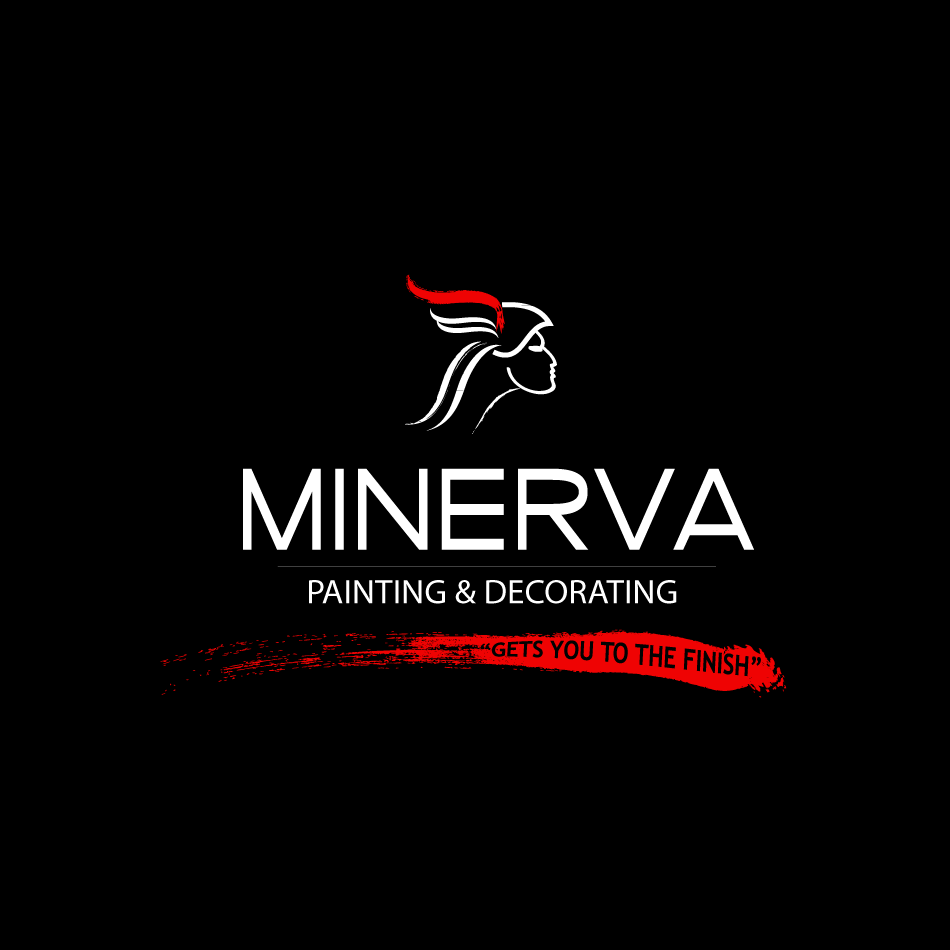 Logo Design by moonflower - Entry No. 42 in the Logo Design Contest New Logo Design for Minerva Painting & Decorating Ltd..