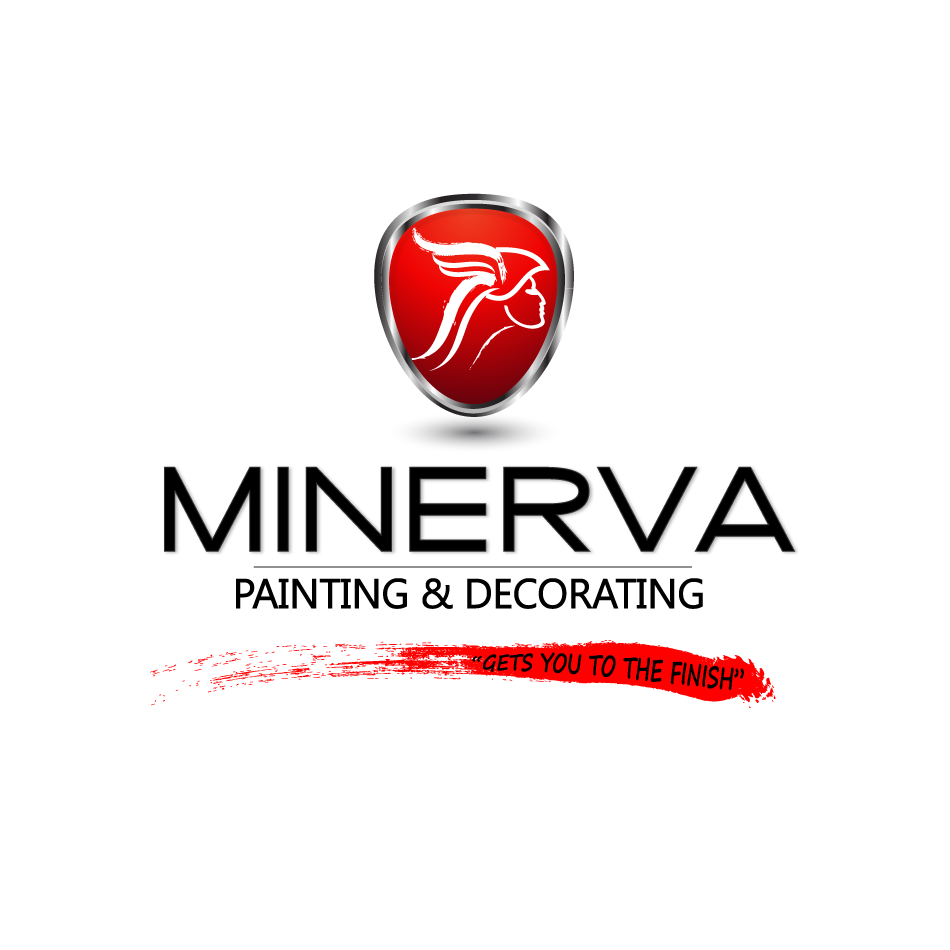 Logo Design by moonflower - Entry No. 43 in the Logo Design Contest New Logo Design for Minerva Painting & Decorating Ltd..