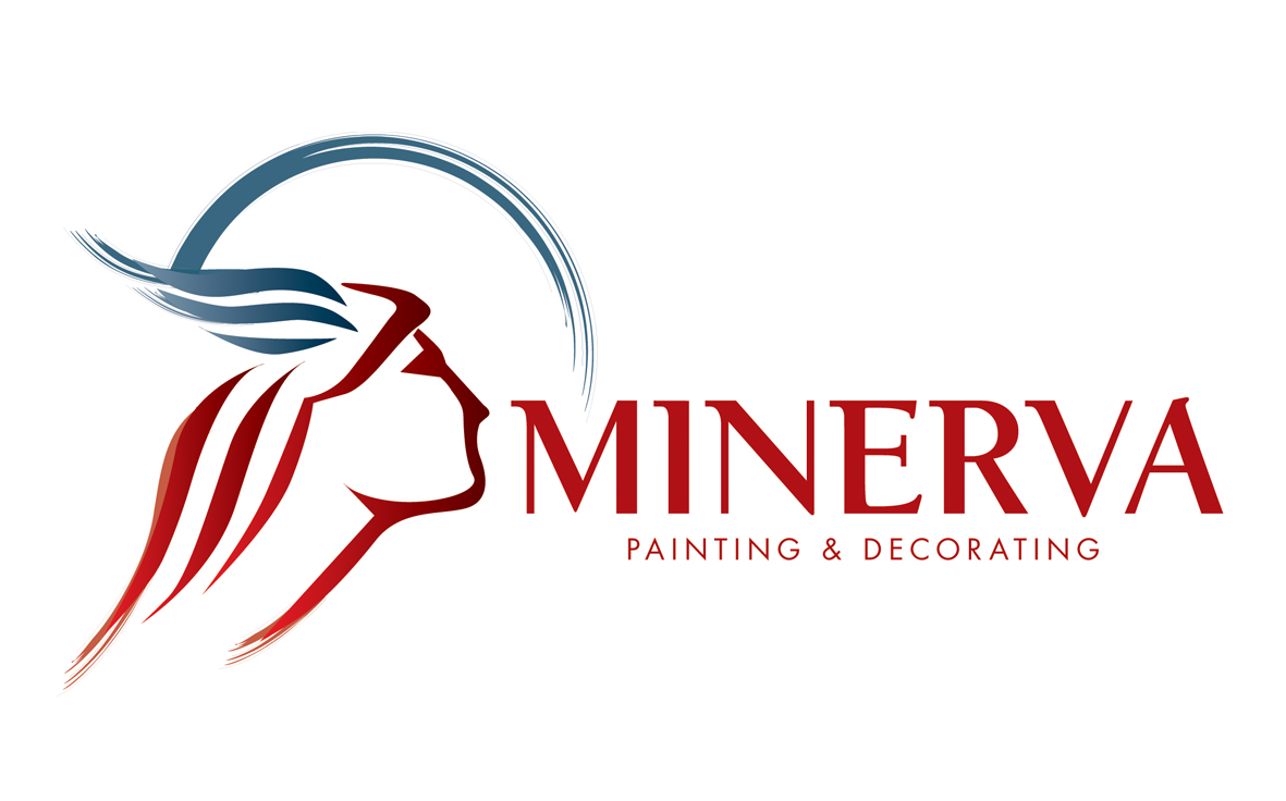 Logo Design by mersina - Entry No. 48 in the Logo Design Contest New Logo Design for Minerva Painting & Decorating Ltd..