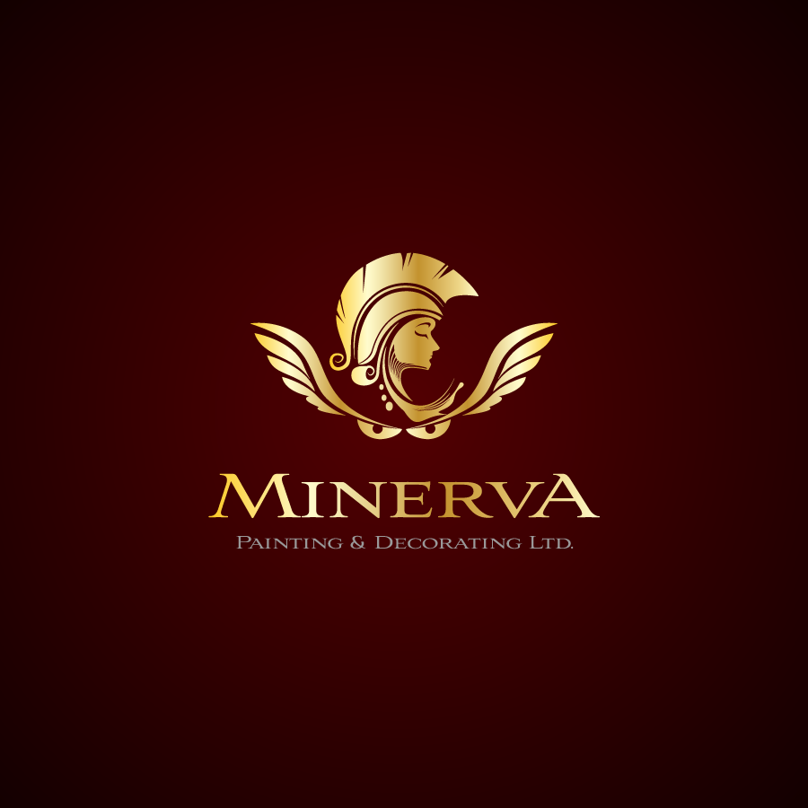 Logo Design by zesthar - Entry No. 51 in the Logo Design Contest New Logo Design for Minerva Painting & Decorating Ltd..