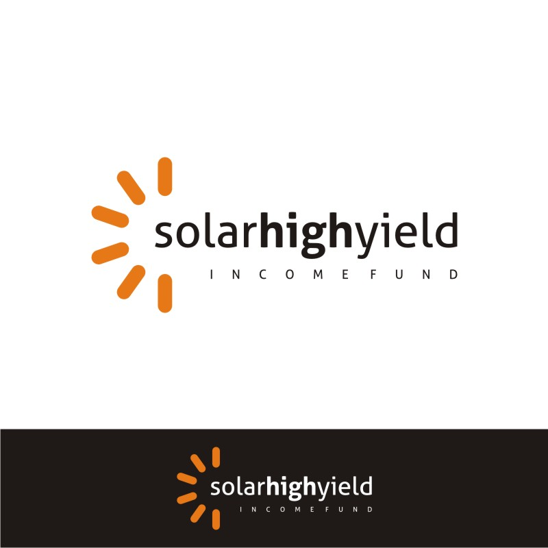 Logo Design by Private User - Entry No. 90 in the Logo Design Contest Logo Design Needed for Exciting New Company Solar High Yield Income Fund.