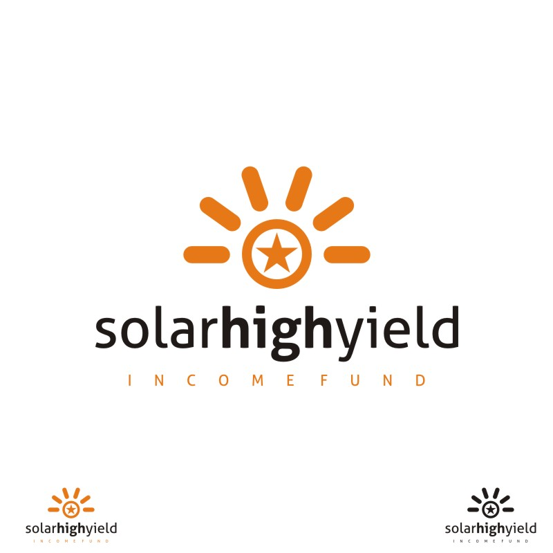 Logo Design by Private User - Entry No. 91 in the Logo Design Contest Logo Design Needed for Exciting New Company Solar High Yield Income Fund.