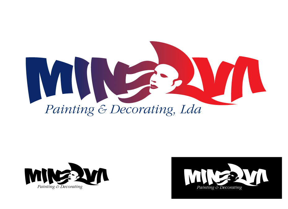 Logo Design by Severiano Fernandes - Entry No. 55 in the Logo Design Contest New Logo Design for Minerva Painting & Decorating Ltd..