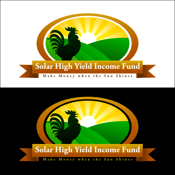 Logo Design by Joseph Vebra - Entry No. 101 in the Logo Design Contest Logo Design Needed for Exciting New Company Solar High Yield Income Fund.