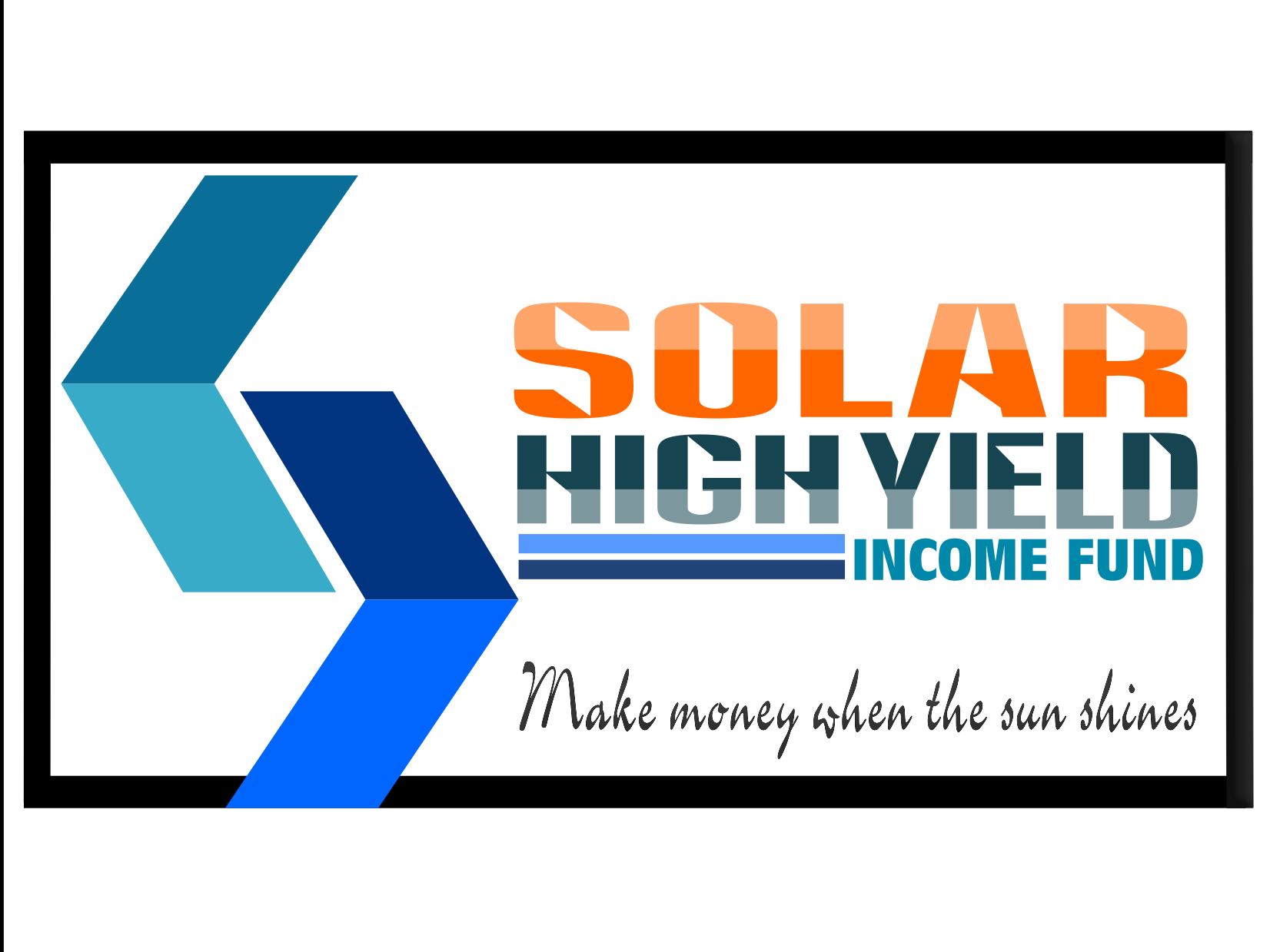 Logo Design by Joseph calunsag Cagaanan - Entry No. 102 in the Logo Design Contest Logo Design Needed for Exciting New Company Solar High Yield Income Fund.