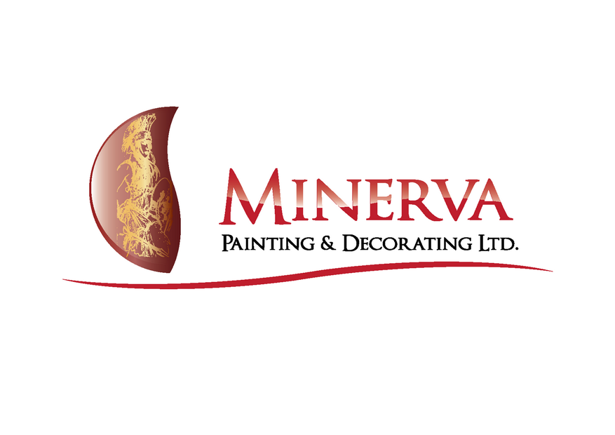 Logo Design by Riyaz - Entry No. 57 in the Logo Design Contest New Logo Design for Minerva Painting & Decorating Ltd..