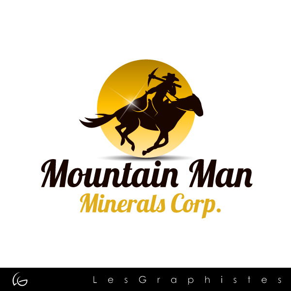 Logo Design by Les-Graphistes - Entry No. 7 in the Logo Design Contest Mountian Man Minerals Corp. Logo Design.