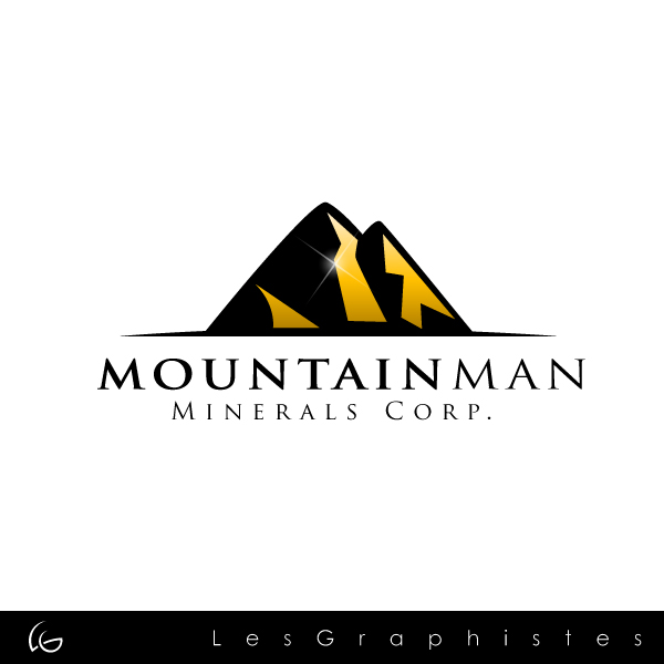 Logo Design by Les-Graphistes - Entry No. 8 in the Logo Design Contest Mountian Man Minerals Corp. Logo Design.