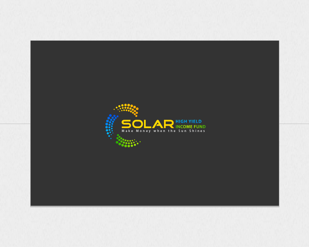 Logo Design by iXureDesign - Entry No. 114 in the Logo Design Contest Logo Design Needed for Exciting New Company Solar High Yield Income Fund.