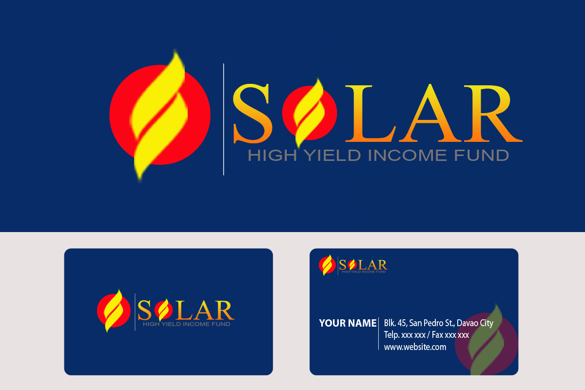 Logo Design by golden-hand - Entry No. 116 in the Logo Design Contest Logo Design Needed for Exciting New Company Solar High Yield Income Fund.