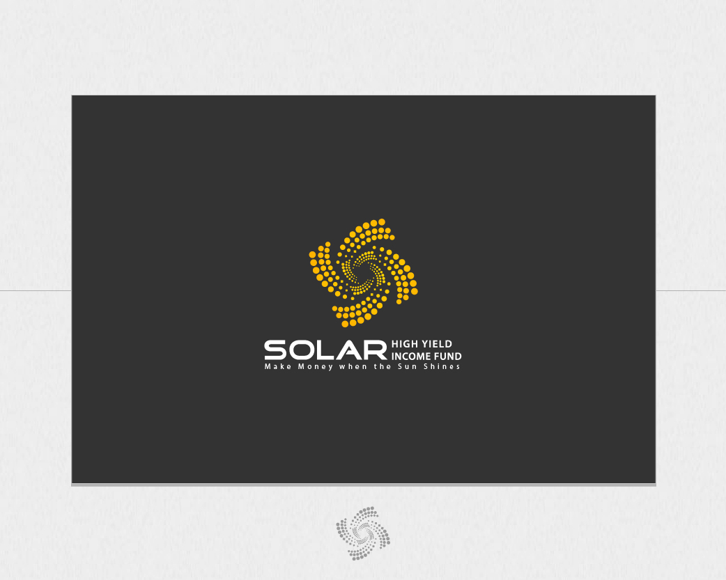 Logo Design by iXureDesign - Entry No. 117 in the Logo Design Contest Logo Design Needed for Exciting New Company Solar High Yield Income Fund.