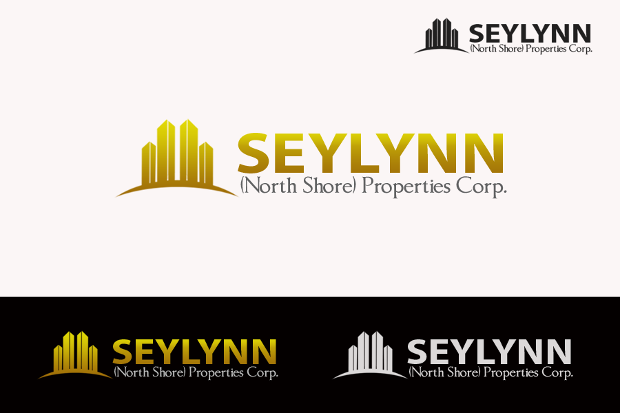 Logo Design by golden-hand - Entry No. 60 in the Logo Design Contest Logo Design Needed for Exciting New Company Seylynn Northshore Properties.