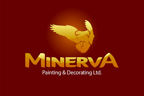 Logo Design by scorpy - Entry No. 59 in the Logo Design Contest New Logo Design for Minerva Painting & Decorating Ltd..