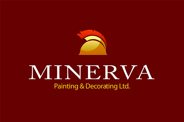Logo Design by scorpy - Entry No. 62 in the Logo Design Contest New Logo Design for Minerva Painting & Decorating Ltd..