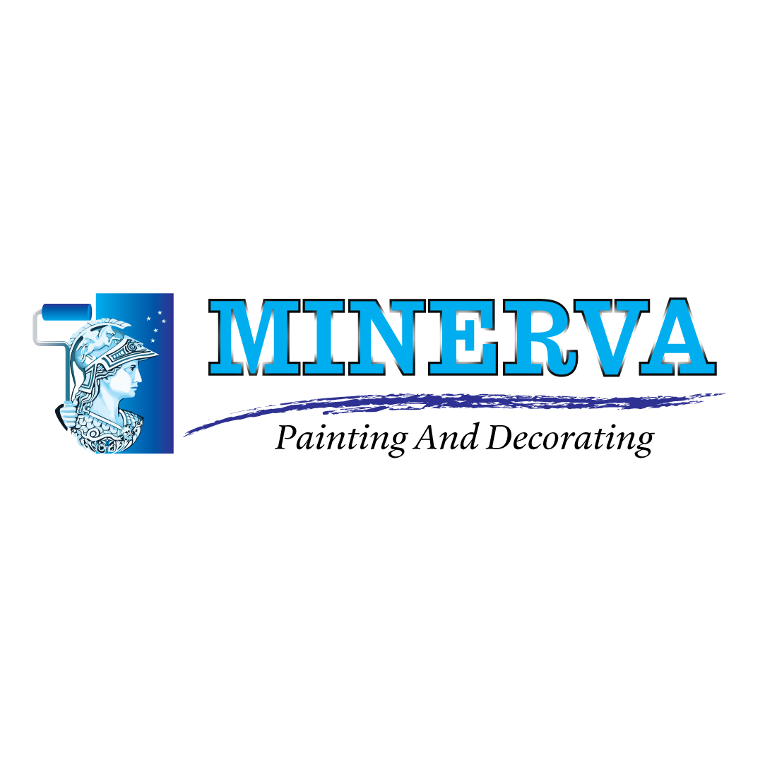 Logo Design by Dan Cristian - Entry No. 63 in the Logo Design Contest New Logo Design for Minerva Painting & Decorating Ltd..