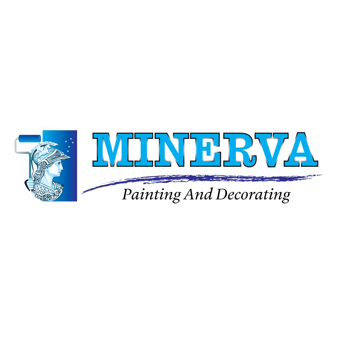 Logo Design by Dan Cristian - Entry No. 63 in the Logo Design Contest New Logo Design for Minerva Painting & Decorating Ltd..