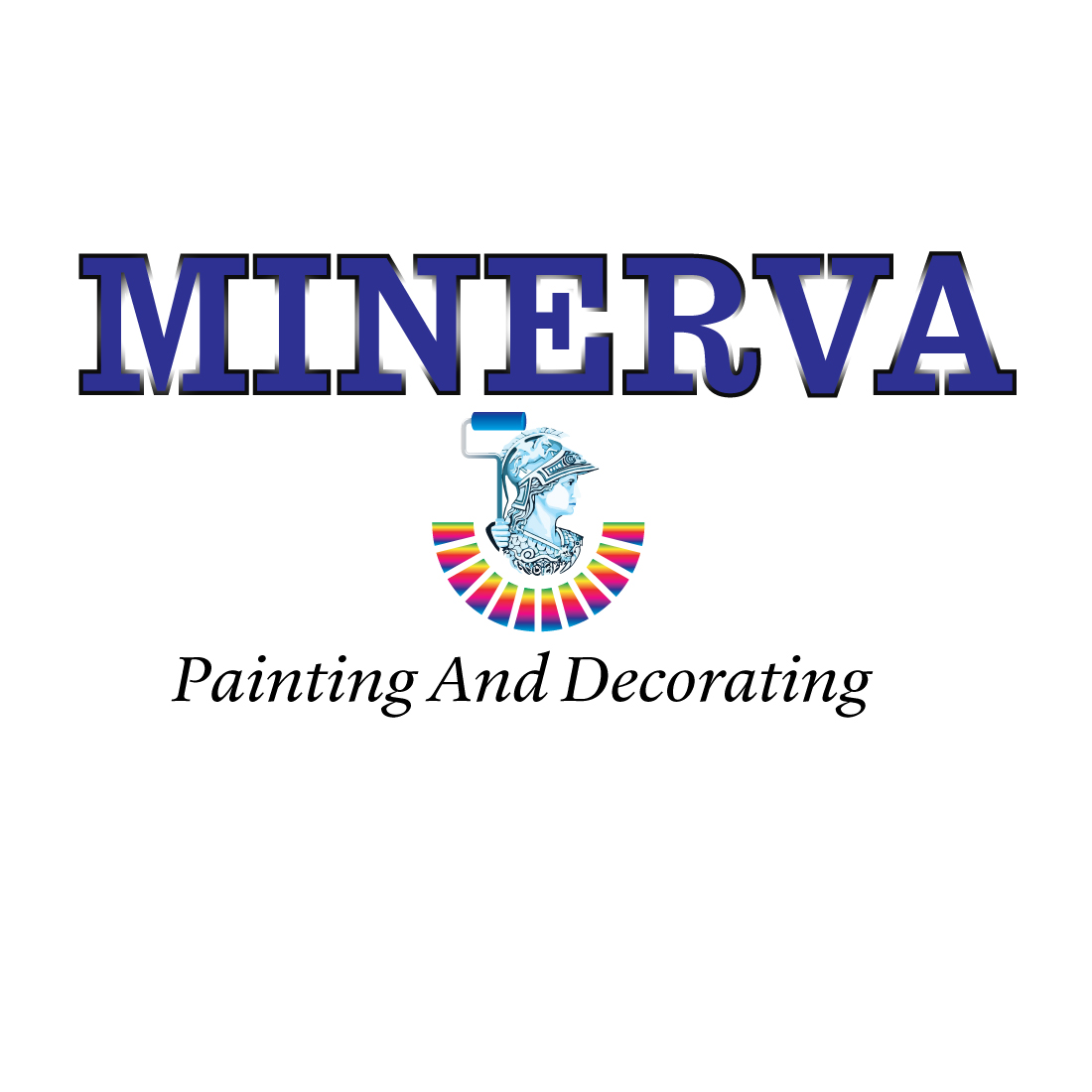 Logo Design by Dan Cristian - Entry No. 64 in the Logo Design Contest New Logo Design for Minerva Painting & Decorating Ltd..