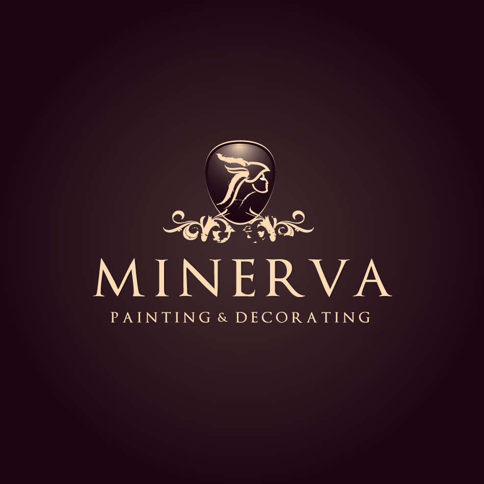 Logo Design by moonflower - Entry No. 66 in the Logo Design Contest New Logo Design for Minerva Painting & Decorating Ltd..