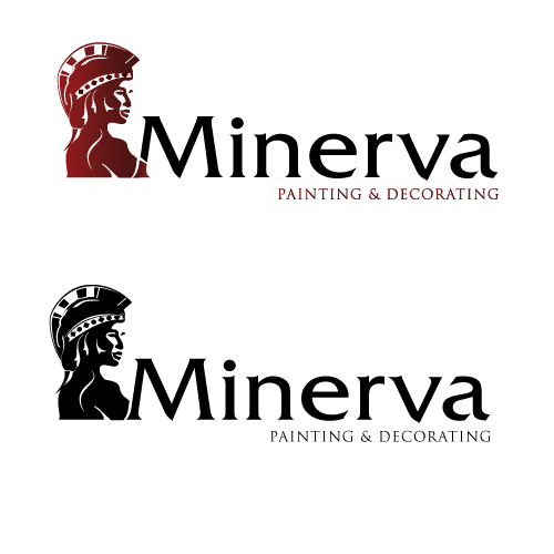 Logo Design by keekee360 - Entry No. 67 in the Logo Design Contest New Logo Design for Minerva Painting & Decorating Ltd..